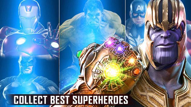 Mafia Thanos Vs Avengers Superhero Infinity Fight screenshot 1