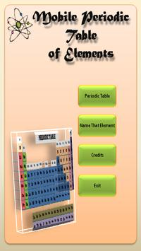 The Mobile Periodic Table screenshot 1