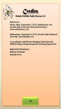 The Mobile Periodic Table screenshot 6