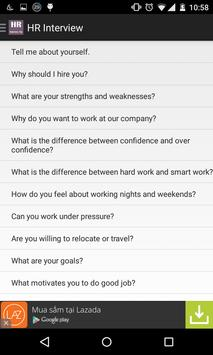 HR Interview Tips poster