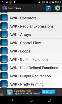 Learn AWK screenshot 1