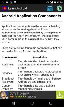 Learn android language apk screenshot