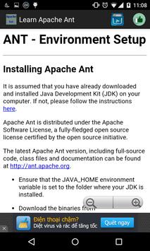 Learn Apache Ant for Android - APK Download