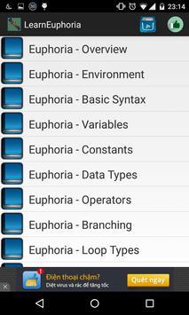 Learn Euphoria poster