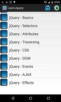 Learn jQuery screenshot 1