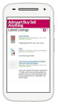Admaart BuySell apk screenshot