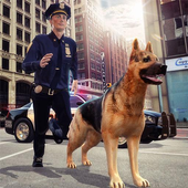 City Police Car n Police Dog icon