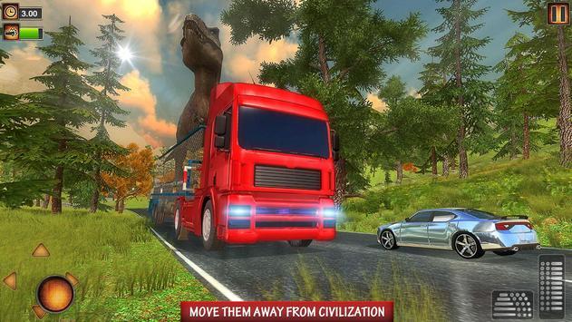 Wild Dino Transport Truck apk screenshot