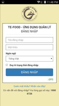 ADMIN TE FOOD poster