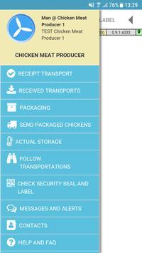 TE-FOOD International Administration screenshot 1