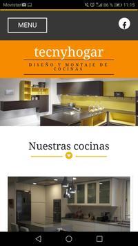 Tecnyhogar Cocinas poster