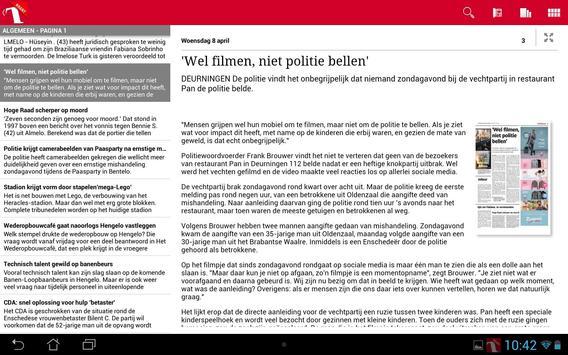 Tubantia Krant apk screenshot