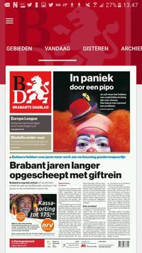Brabants Dagblad Krant poster