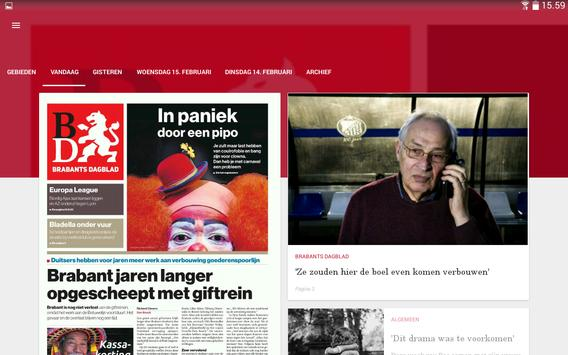 Brabants Dagblad Krant apk screenshot