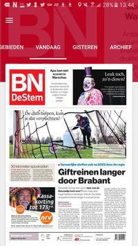 BN DeStem Krant poster