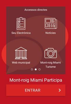 Mont-roig Miami Participa poster