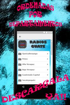 Radios Guate apk screenshot