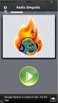 Radio Simpatía apk screenshot