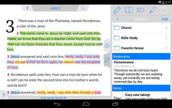 Tecarta Bible apk screenshot