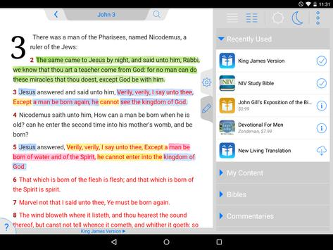 Holy Bible King James + Audio screenshot 10