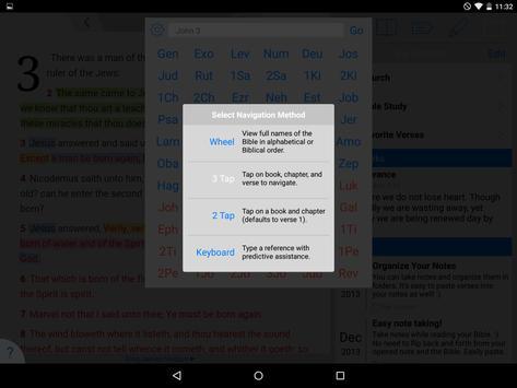 Holy Bible King James + Audio screenshot 14