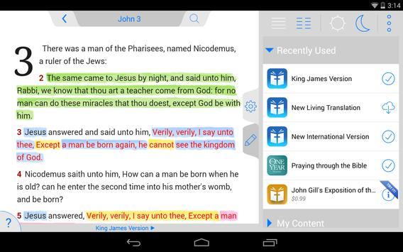 Holy Bible King James + Audio screenshot 17