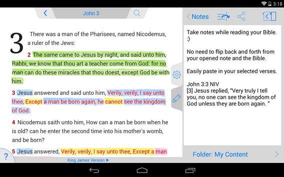 Holy Bible King James + Audio screenshot 21
