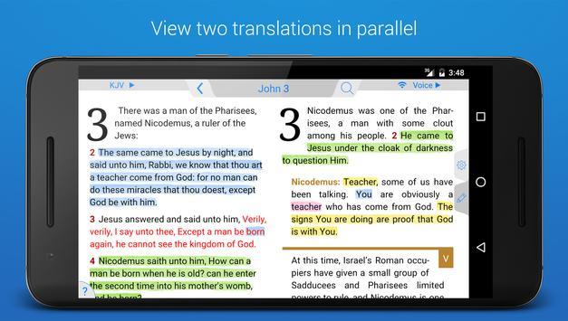 Holy Bible King James + Audio screenshot 5