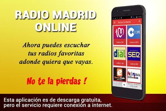 Radio Madrid Online - Emisoras de Radio de Madrid poster