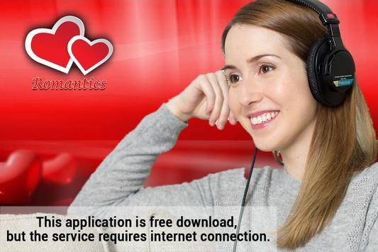 Romantic Music Radio App poster