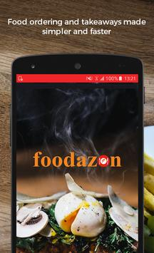 Foodazon Food Order & Delivery poster