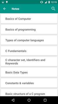 Programming in C screenshot 1