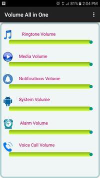 Volume Control : All In One screenshot 3