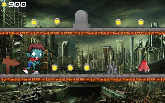 Zombie Adventurer Runner apk screenshot