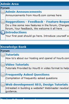 HourB Hosting screenshot 1