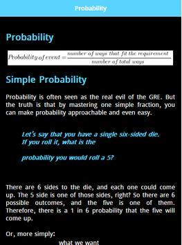 GRE Math Prep screenshot 1