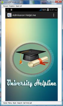 All Varsity AdmissionTest Info poster