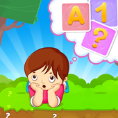 ABC 123 Memory Game - Kids Matching Game icon