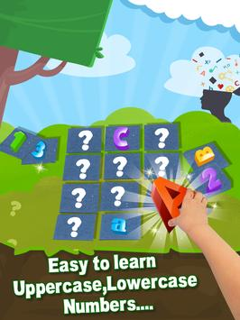 ABC 123 Memory Game - Kids Matching Game screenshot 2