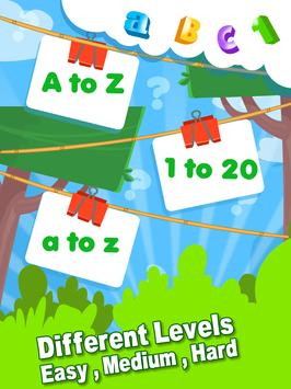 ABC 123 Memory Game - Kids Matching Game screenshot 3
