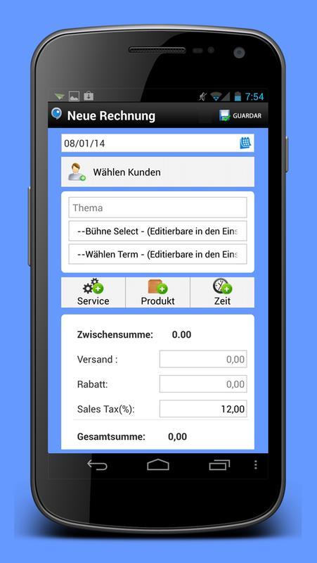 Rechnung Und Abrechnung Apk Download Free Productivity App For