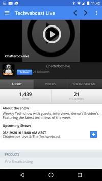 Tech WebCast apk screenshot