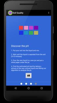 Soil Quality (PH indicator) apk screenshot