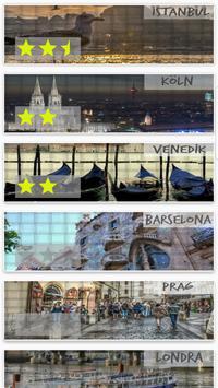 Avrupa Şehirleri Puzzle screenshot 3