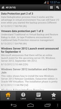 TechyTube RSS Reader poster