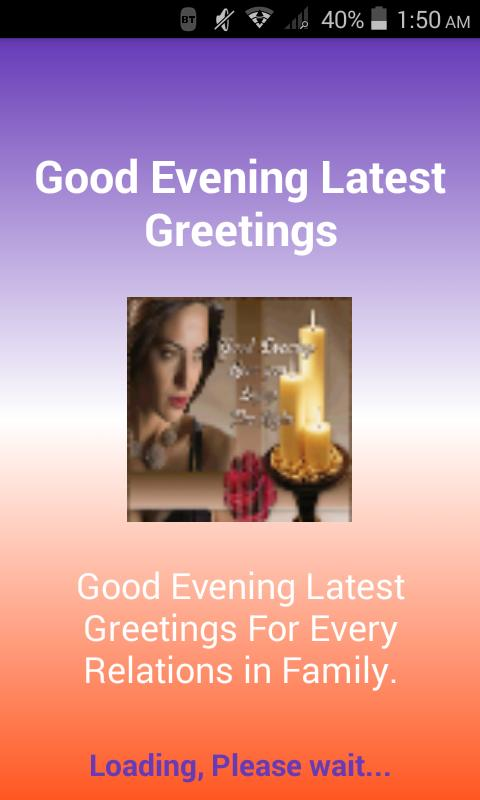 Good evening latest greetings for android apk download good evening latest greetings screenshot 3 m4hsunfo