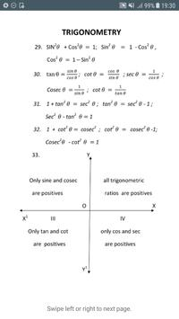 All formula (Math,Physics,Chemistry) for 11th 12th screenshot 11