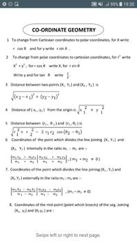All formula (Math,Physics,Chemistry) for 11th 12th screenshot 2