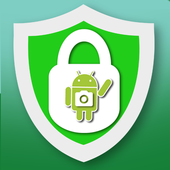 Alarm anti theft, take picture icon