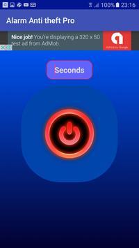 Alarm anti theft, take picture apk screenshot